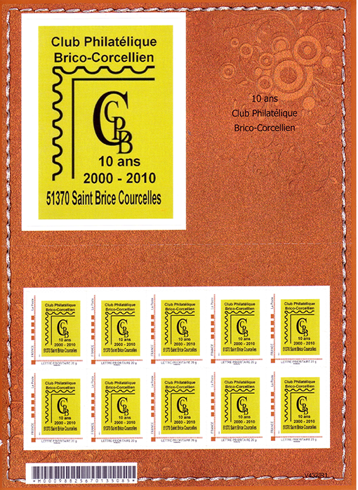 2010-10 ans CPBC-Collector